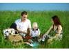 Отдых на природе с ребенком