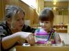 Работа в детском саду