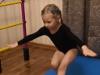 Пятилетняя челябинка присела 17 раз на одной ноге за 60 секунд