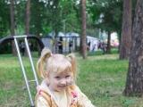Научилась ездить на велосипеде - Ксения Авдеева, 3 года