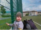 Помогаем тренеру собрать мячи - Крохин Кирилл, 2 года