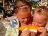 Кукурузка - Лебедева Мария, 8 лет, Лебедева Александра, 6 лет