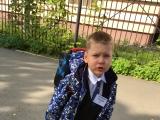 Первый раз в первый класс!!! (Арсений Кокорин, 7 лет)
