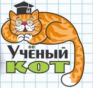 Учёный кот рисунок