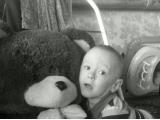 О, какой большой медвежонок. Фото от Муртазиной Надежды