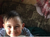 Вот и собрал свой первый урожай - Лемеш Артём, 10 лет
