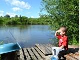 У реки - Михин Илья, 4 года