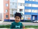 Мышка-Минни в песочнице - Дубынина Камилла, 1.5 года