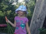 Морковище - Лебедева Мария, 8 лет, Лебедева Александра, 6 лет