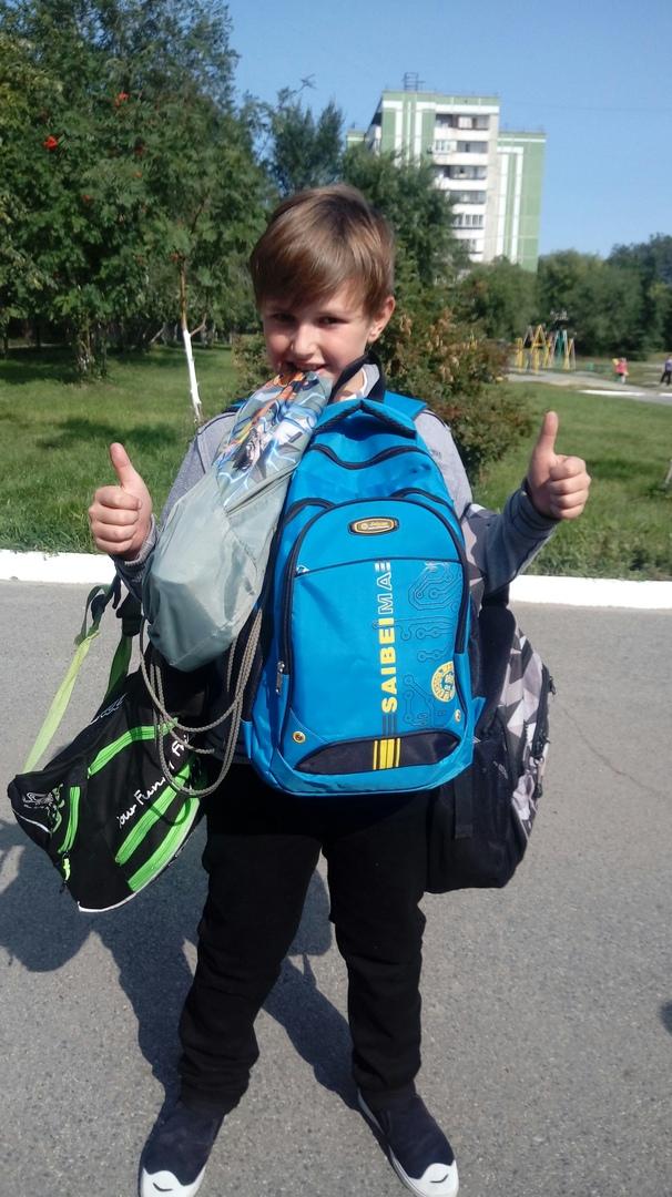 А я - ХОЧУ учица (Шипицын Никита, 10 лет)