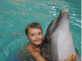 Ура! Сбылась моя мечта - с дельфинами поплавал я! (фото от Семеновых Марины)